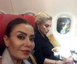 Uçakta panik! Muazzez Ersoy'un oturduğu koltuğun penceresinden bakan kim?