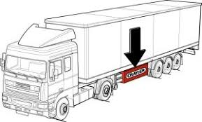 palfinger crayler truck mounted forklift bm model truck trailer plug diagram optimal weight distribution with the bm mounted in the centre of the semi trailer perfect trailer balance is maintained