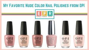 Opi Nail Color Chart 2017 2017 Estrella Fashion Report