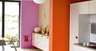 Brave And Bold: Vibrant Dulux Shades On The Back Wall Is In Dulux Pink 21RR