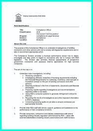 Compliance Officer Resume Sample Manager Chief Bank Example