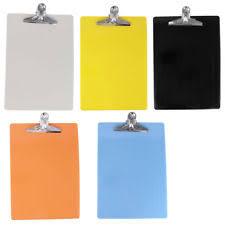 clipboard office paper holder clip. Item 3 Office School A4 Paper File Note Holder Clip Clamp Board Clipboard - E