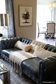 black leather sofa decorating ideas fresh living room sofa remodelaholic favorites of black leather sofa