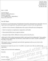 Top Result 48 New Dear Human Resources Department Cover Letter