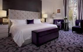 Modern Purple Bedroom Bedroom Bedroom Interior Design Modern Bedrooms