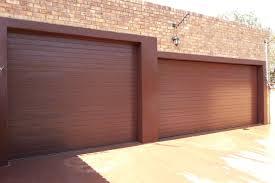 garage door single steel garage door king brown doors chromadek double slat overhead spring adjustment