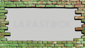 background old brick wall there is a