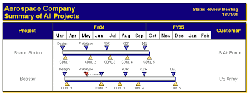Gantt Chart Variations