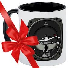 turn coordinator mug unique coffee mug