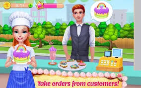 My Bakery Empire Bake Decorate Serve Cakes Apps On Google
