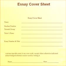 essay cover sheet customize grammar and style settings cover sheet for an essay sample