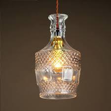 chandeliers glass bottle chandelier creative arts personalized retro chandelier lighting led restaurant cafe bar loft