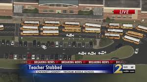Middle School Of Student Georgia Las Teacher Accused Stabbing d5fZnAwq