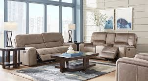 furniture living room packages. bluff springs brown 5 pc reclining living room furniture packages k