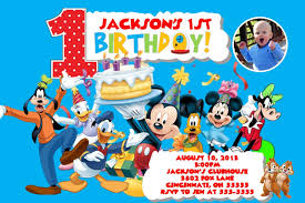 mickey mouse clubhouse 1st birthday invitations gangcraft net blog page of mickey mouse invitations templates birthday invitations