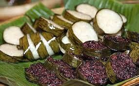 Image result for ketupat lemang