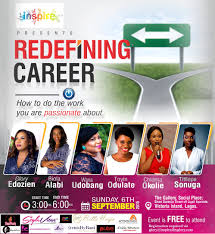join inspired by glory for redefiningcareer how to do the work glory edozien inspire series redefining career 2015 theme design1