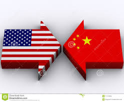USA Vs. China stock illustration. Illustration of patriotism - 17475659