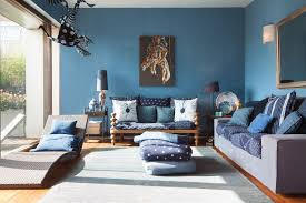 Latest Trends For Blue Living Room Designs Custom Blue Color Living Room