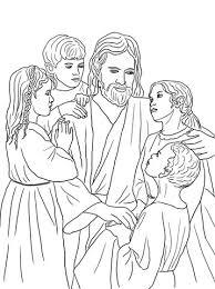 Jezus Houdt Van Alle De Kinderen Van De Wereld Kleurplaat Gratis