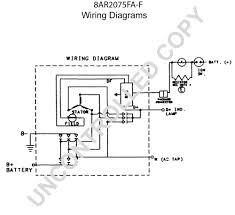 prestolite leece neville 8ar2075fa f wiring diagram
