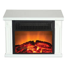 wood burning gas fireplace with closed hearth using clear glass cover and white mantle