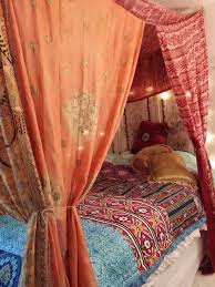 Bed Canopy- Moroccan Dream MADE TO ORDER....2 weeks creation time ...