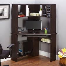 home office computer workstation. Furniture:L Shaped Computer Desk With Hutch Home Office Corner Drawers Workstation D