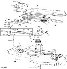 John deere parts diagrams john deere 60 inch mid mount rotary mower