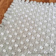 Free Crochet Blanket Patterns Enchanting Crochet Baby Blanket Pattern From Daisy Cottage Designs