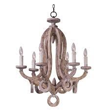 old world 6 light chandelier