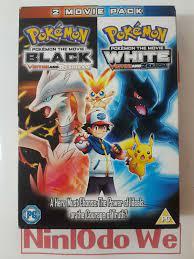 Pokémon der Film schwarz und weiss Victini Reshiram Zekrom Filme Boxset-DVD