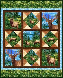 267 best Quilting with panels images on Pinterest | Panel quilts ... & quilt-american-elk.jpg (JPEG Image, 800 Ã? 985 pixels) Adamdwight.com