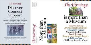 Six Panel Brochure The Hermitage National Historic Landmark Brochure On Aiga Member Gallery
