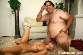Fat guy and pornstar