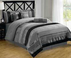 black and silver comforter sets bedding queen 9 14 best 25 ideas on gray and black