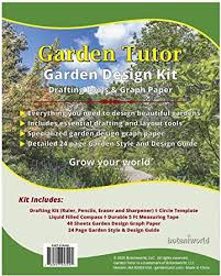 68+ ideas garden design small layout fence for 2019. Amazon Com Garden Tutor Garden Design Kit Detailed Garden Style Design Guide And All The Tools Needed To Put Your Vision Onto Paper Garden Outdoor