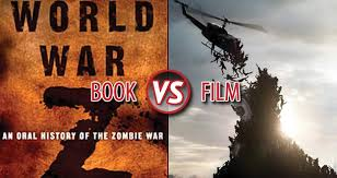 Book Vs Movie Venn Diagram Book Vs Film World War Z Litreactor