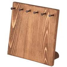 Wooden Jewelry Display Stands Delectable Jewelry Display Wood Small Board Display Great For Displaying Or