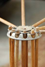 vintage drying rack wooden cosmecol
