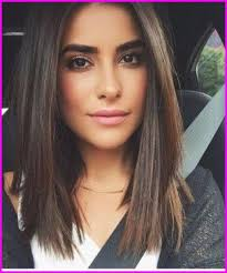cute hairstyles for straightened hair