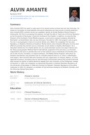 Pediatric Dentist Resume Samples Visualcv Resume Samples Database