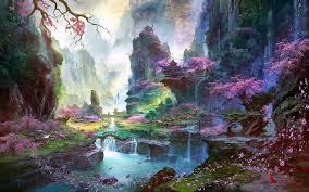 Fantasy art landscapes ...