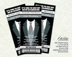 birthday invitations for him party black silver sayings 40th themes present ideas a female friend invitat