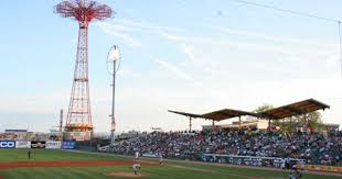 Brooklyn Cyclones Game Keyspanpark Mets Baseball