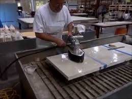 how to polish a buddy rhodes concrete countertop
