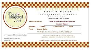 Chef Certificate Template Chef Certificate Template Award ...