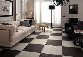 white floor tiles living room. Black And White Floor Tile Designs With Beige Sofa Wrought Iron Chandelier For Art Deco Living Room Plan Tiles