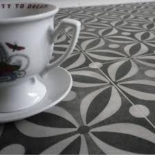 black vinyl flooring cement tile pattern for the home