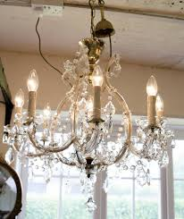 beautiful french eight branch chandelier